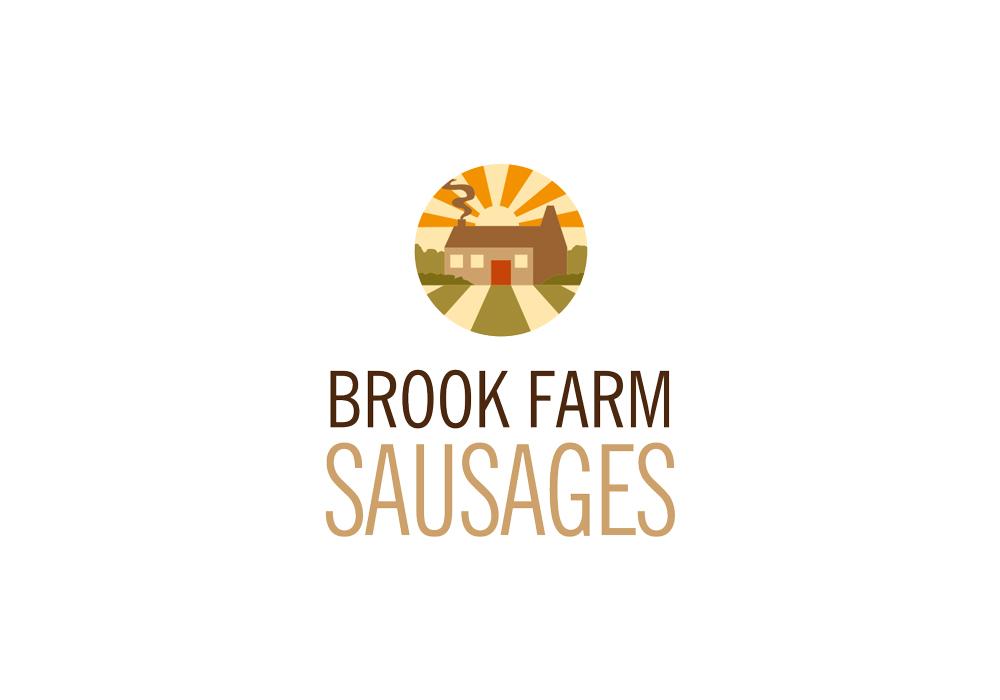 Brook Farm Sausages logo