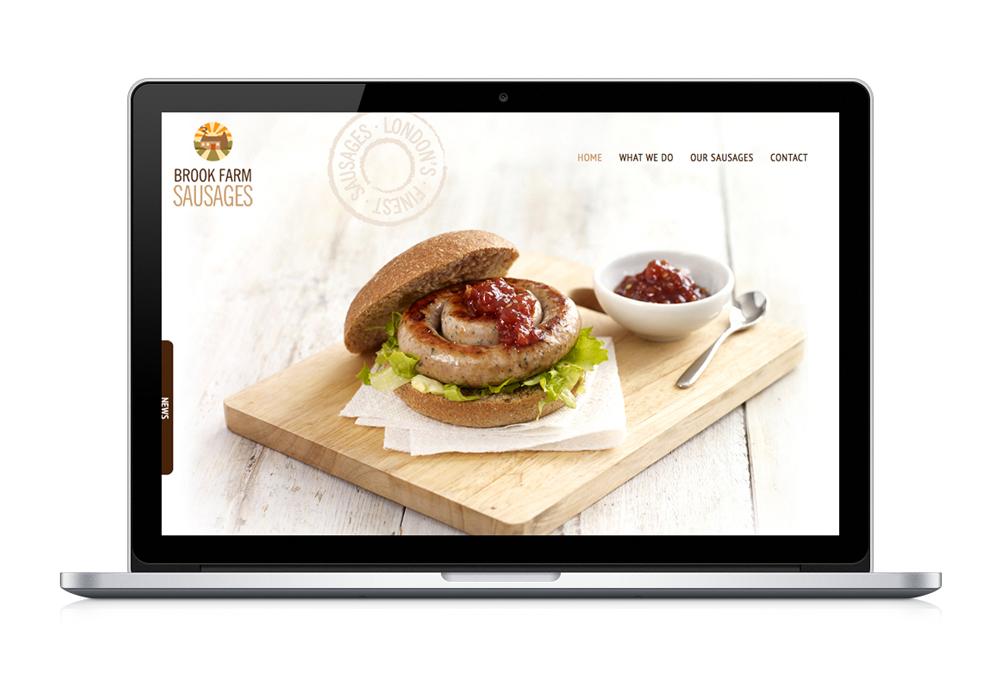Brook Farm Sausages website