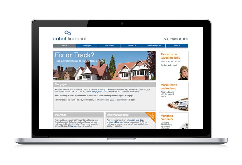 Cobalt Financial website