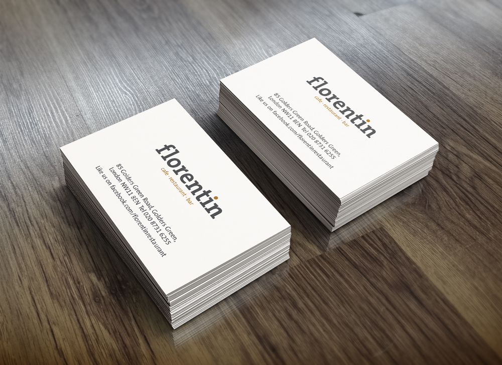 Florentin business card