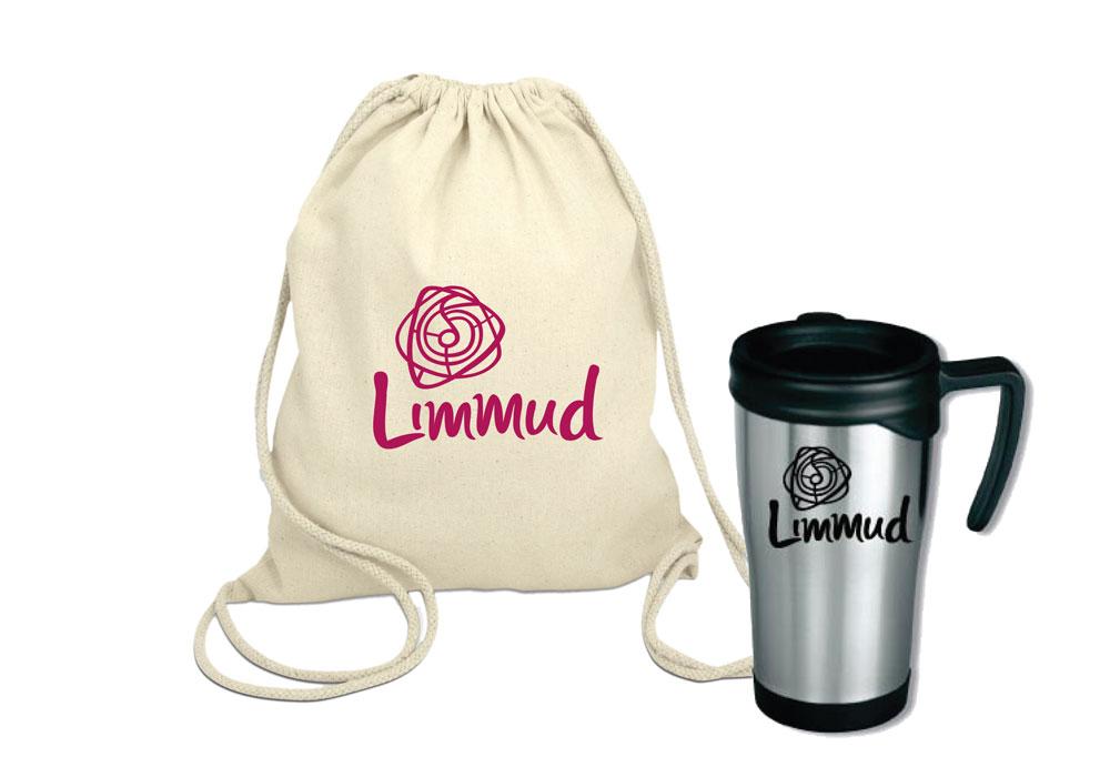 Limmud bag and mug