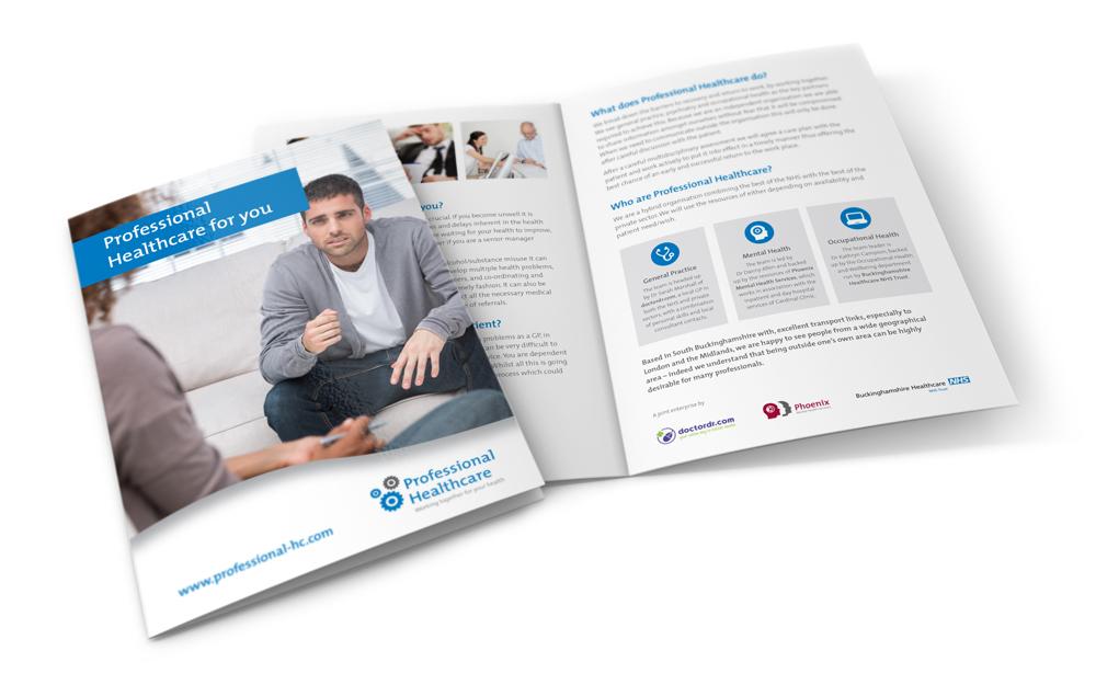 Professional Healthcare leaflet