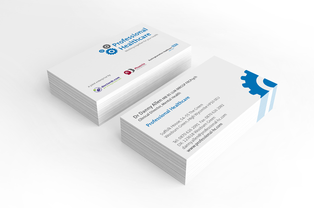 Professional Healthcare business card