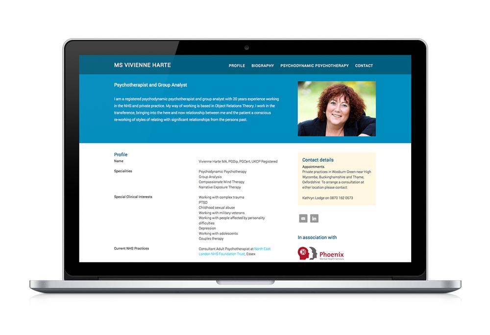 Ms Vivienne Harte website